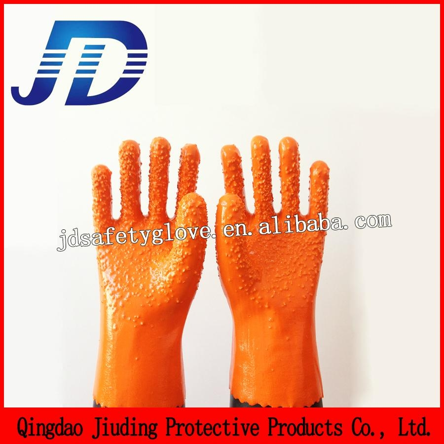 Labour protection glove double dipped nylon gloves 2