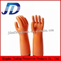 Labour protection glove double dipped nylon gloves 3