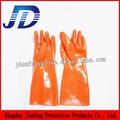 Labour protection glove double dipped nylon gloves 4