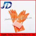 Labour protection glove double dipped nylon gloves 5