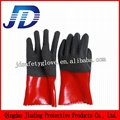 Oil resistant foam safety working gloves