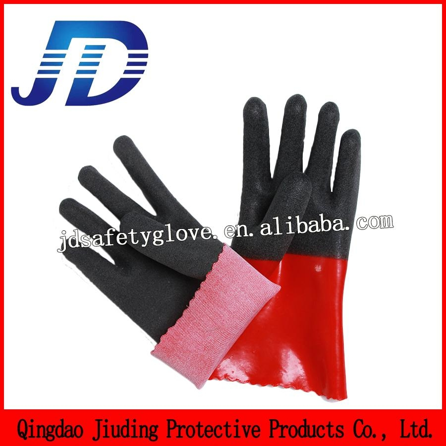 Oil resistant foam safety working gloves machinery 2