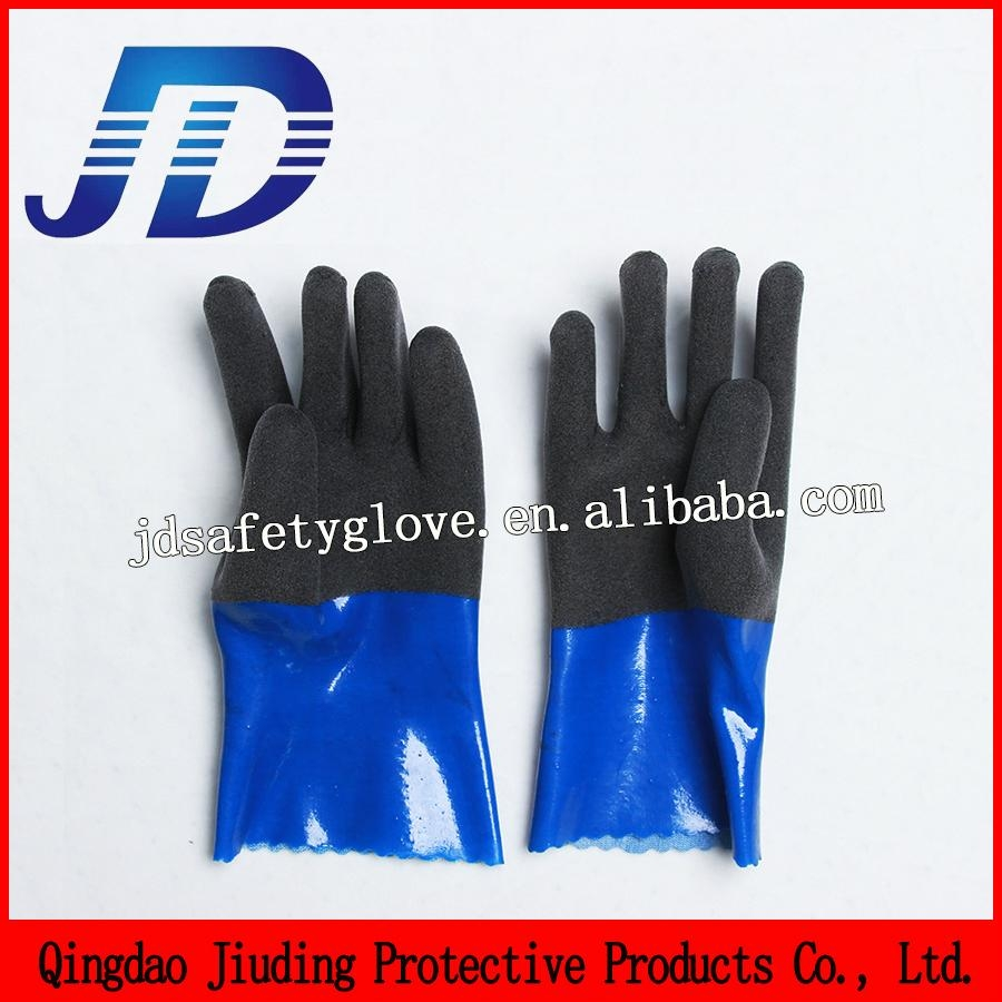 Oil resistant foam safety working gloves machinery 3