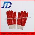PVC nylon gardening gloves 3