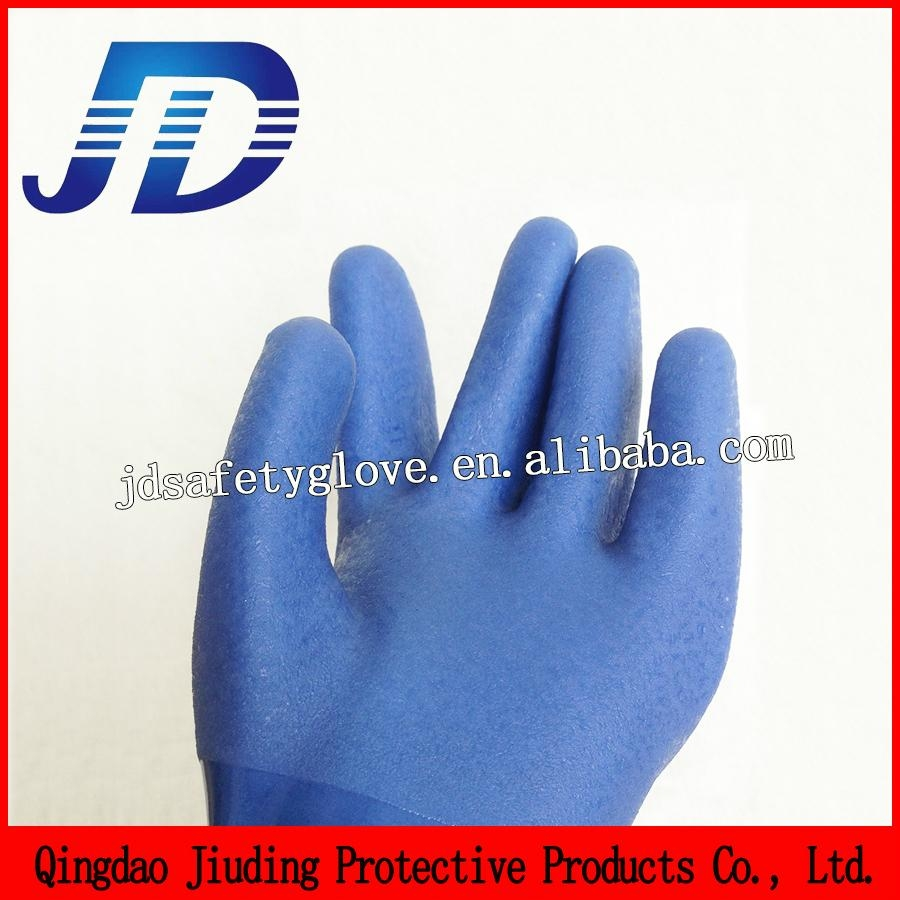 blue frosted safety working gloves 3