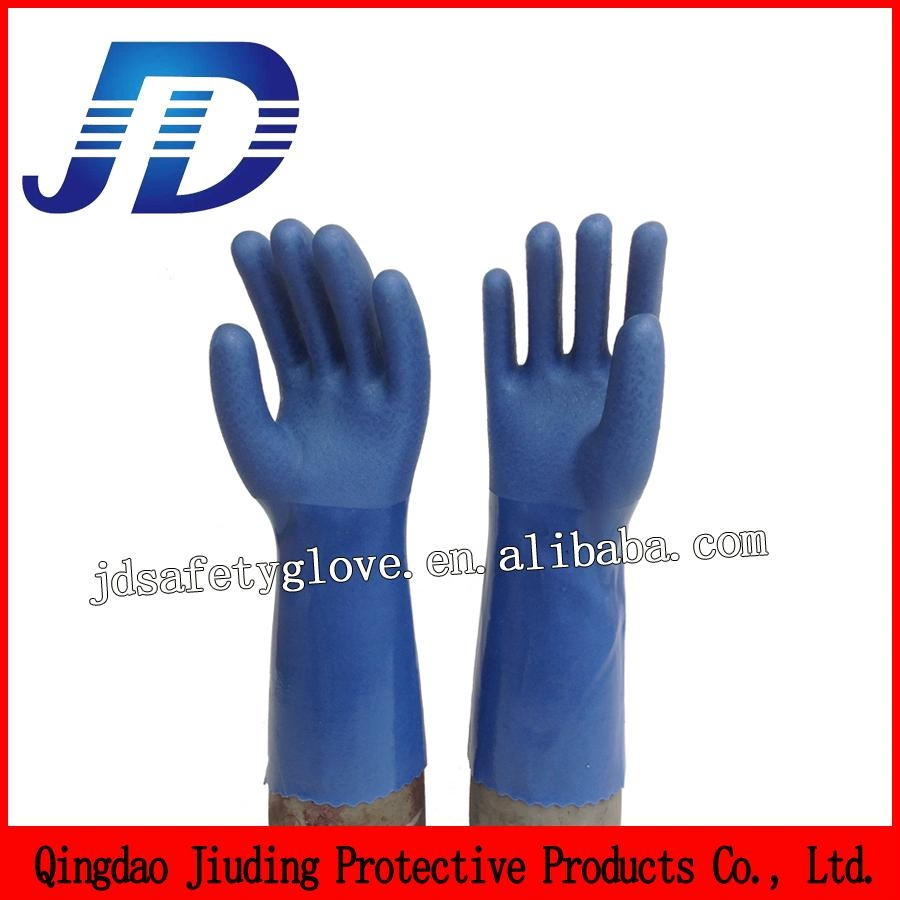 Double dipped nylon mechanical gloves 1