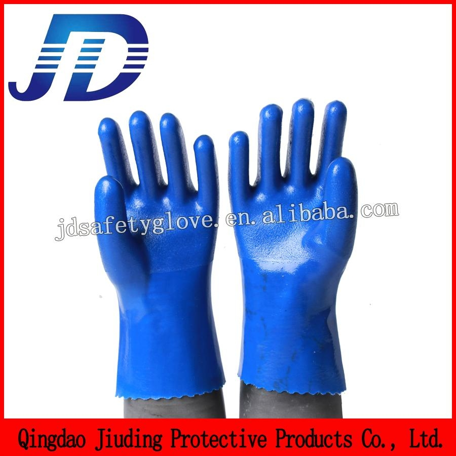 Double dipped nylon mechanical gloves 2