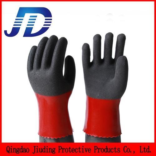 China wholesale security equipment PVC nylon core work gloves 3