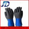 China wholesale security equipment PVC nylon core work gloves 4