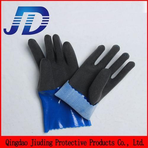 China wholesale security equipment PVC nylon core work gloves 1