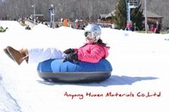 Snow ski circle for children