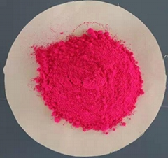 Plastic injection special fluorescent pigments