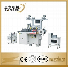 Flatbed automatic die cutting machine for labels and mobile screen protector