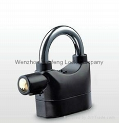 Kinbar siren alarm padlock high security