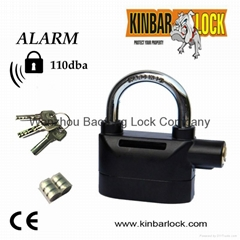 Security alarm Padlock KINBAR alarm lock 110db