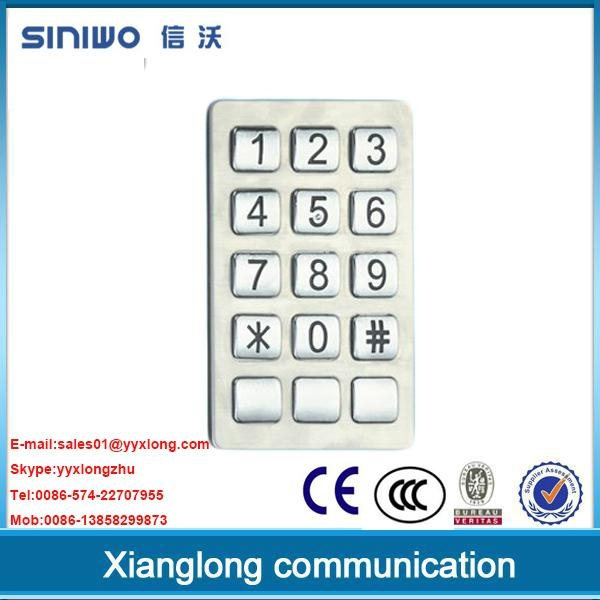public phone payphone zinc alloy keypad  1