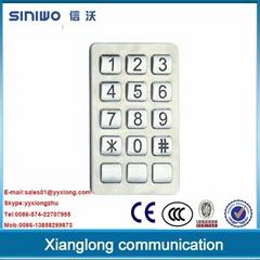 public phone payphone zinc alloy keypad