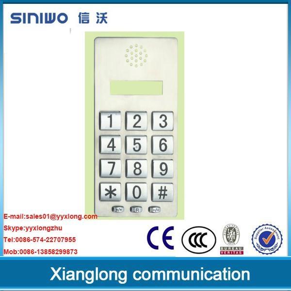 public phone payphone zinc alloy keypad with microphone 1