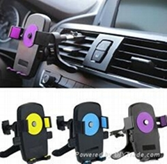 New Universal Mobile Phone Holder Car Air Vent Mount Bracket for Samsung iPhone