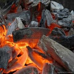 Nature Hardwood quadrilateral high temperature hardwood charcoal