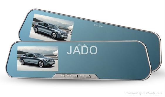 JADO D600S-HD dashcam ,HD1080P rearview mirror car recorder  1