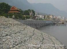 销售武汉河道岸坡生态保护铅丝石笼网箱