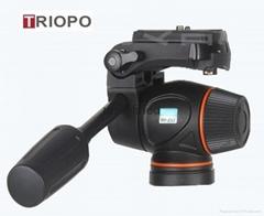 Tripod Head Hydraulic Damping Video Head Tripod