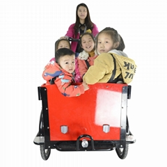 holland three wheel cheap adult cargo tricycle bike to carry children