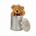 Plush Bear in Can Stuffed Plush Toys