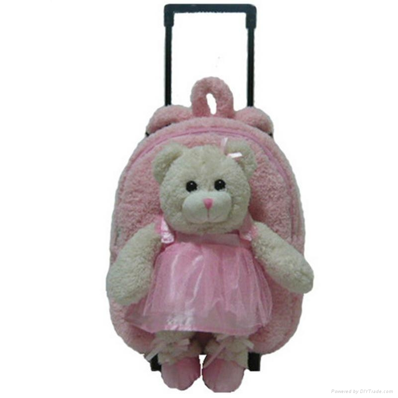 Plush Toys Product : Plush trolley backpack stuffed toys soft