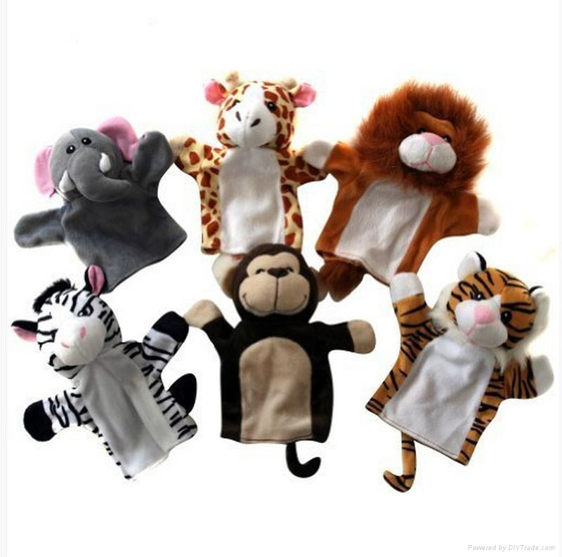Plush Animal Hand Puppets Stuffed Plush Toys Toys Soft Toys Peluche  2