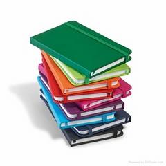 Hardcover Notepad PU Cover Jotter Notebooks Notizbuch