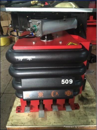 汽車輪胎保養設備詩琴全自動免撬棍扒胎機 509GF 3