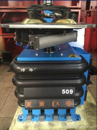 汽車輪胎保養設備詩琴全自動免撬棍扒胎機 509GF 4