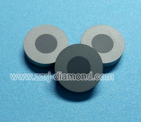 Tungsten Carbide Ring Supported Round Diamond/ PCD Wire Drawing Die Blanks 1