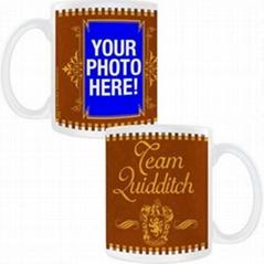 OEM color changing porcelain mug