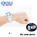 Adult products Manufacturer watch style remote control vibrating penis Cock Slee