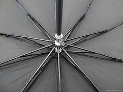 三折防紫外線雙用晴雨傘