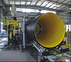 HDPE聚乙烯鋼帶增強螺旋波紋管