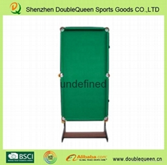 games 6ft folding leg pool table for home use
