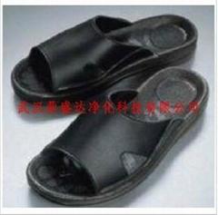 湖北武漢防靜電黑色PU拖鞋