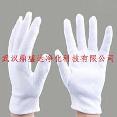 專供湖北武漢白色純棉手套