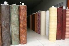 Wood grain transfer paper for door