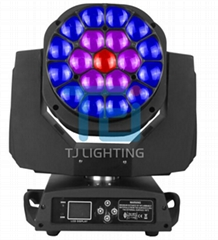 19*15W OSRAM 4IN1 BEE EYE ZOOM LED MOVING HEAD