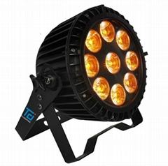 新款9顆15W六合一扁帕燈新款LED舞臺燈