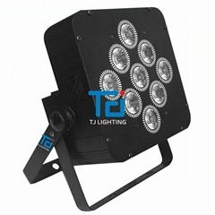 9顆18無線六合一無線DMX電池帕燈