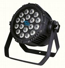 防水18顆15W RGBWAUV 六合一 戶外帕燈