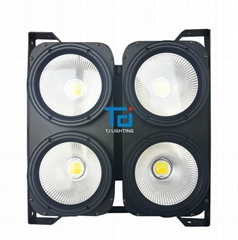 四眼可拼接400WCOB白光暖白LED觀眾燈