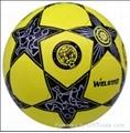 star laminated football ball number 5 2