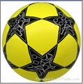 star laminated football ball number 5